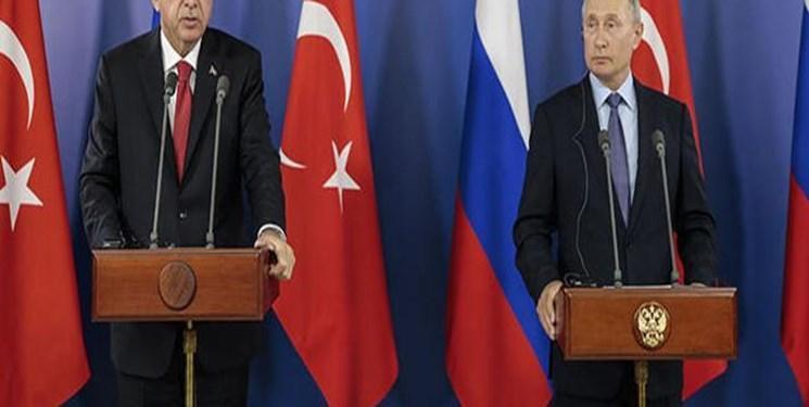 پوتین و اردوغان تلفنی گفت وگو کردند
