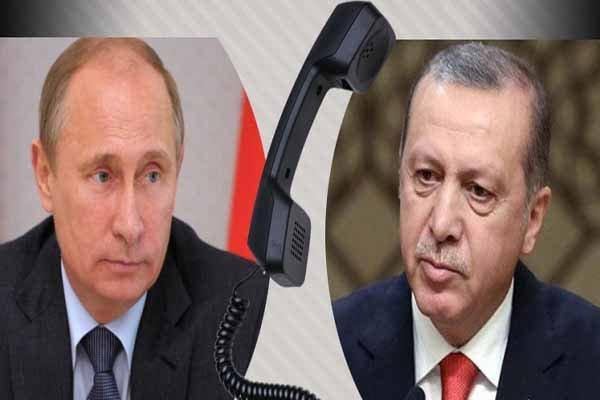 تاکید پوتین و اردوغان بر اجرای کامل توافق سوچی درخصوص سوریه