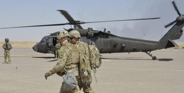 تروریست های آمریکایی از یک پایگاه هوایی در شمال عراق خارج شدند