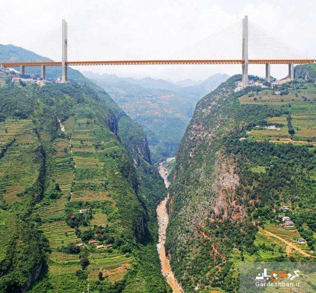 بلندترین پل دنیا در چین